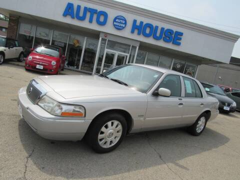 2004 Mercury Grand Marquis for sale at Auto House Motors in Downers Grove IL