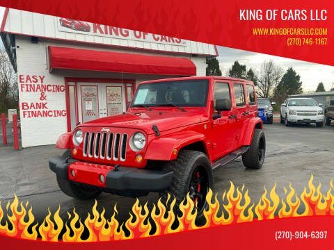 2016 Jeep Wrangler Unlimited for sale at King of Cars LLC in Bowling Green KY