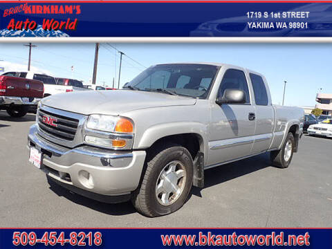 2005 GMC Sierra 1500 for sale at Bruce Kirkham Auto World in Yakima WA