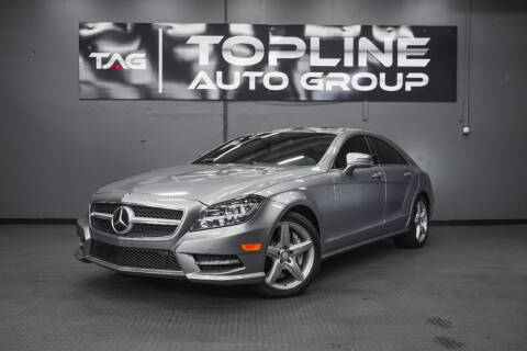 2014 Mercedes-Benz CLS for sale at TOPLINE AUTO GROUP in Kent WA