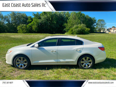 2011 Buick LaCrosse for sale at East Coast Auto Sales llc in Virginia Beach VA