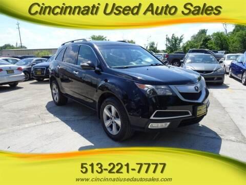 2011 Acura MDX for sale at Cincinnati Used Auto Sales in Cincinnati OH