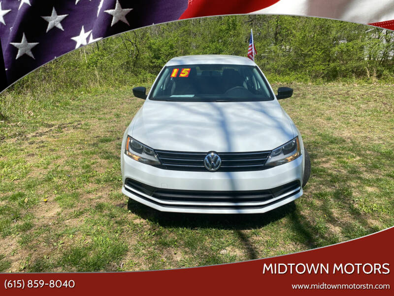 2015 Volkswagen Jetta for sale at Midtown Motors in Greenbrier TN