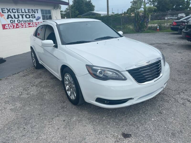 2014 Chrysler 200 for sale at Excellent Autos of Orlando in Orlando FL