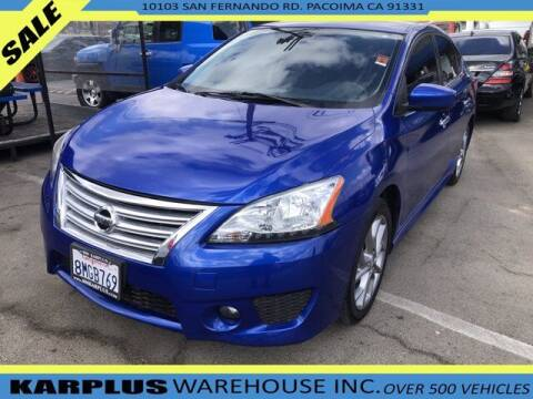2014 Nissan Sentra for sale at Karplus Warehouse in Pacoima CA