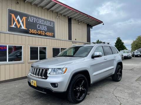 2011 Jeep Grand Cherokee for sale at M & A Affordable Cars in Vancouver WA