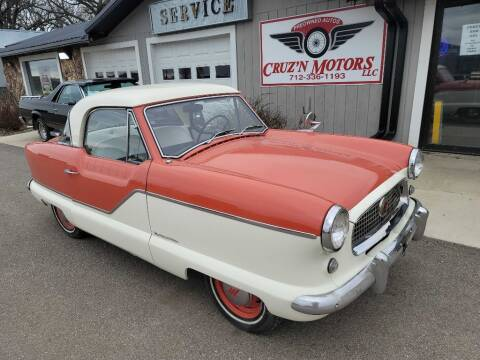 1960 Nash Metropolitan for sale at CRUZ'N MOTORS - Classics in Spirit Lake IA