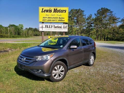 2012 Honda CR-V for sale at Lewis Motors LLC in Deridder LA