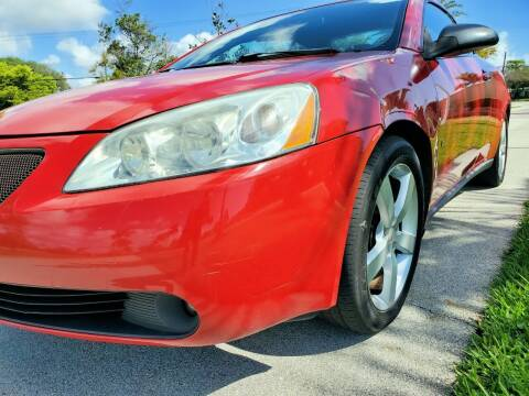 2007 Pontiac G6 for sale at M.D.V. INTERNATIONAL AUTO CORP in Fort Lauderdale FL