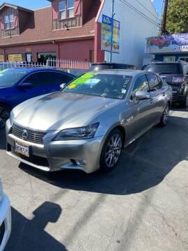 2015 Lexus GS 350 for sale at 2955 FIRESTONE BLVD - 3271 E. Firestone Blvd Lot in South Gate CA