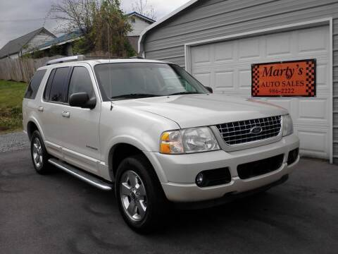 2005 Ford Explorer for sale at Marty's Auto Sales in Lenoir City TN