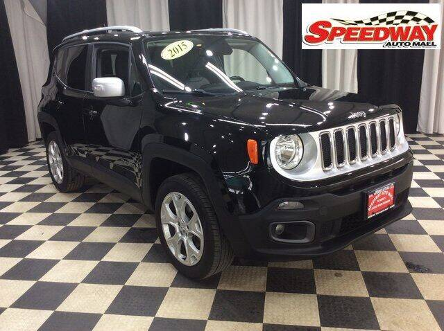 2015 Jeep Renegade for sale at SPEEDWAY AUTO MALL INC in Machesney Park IL