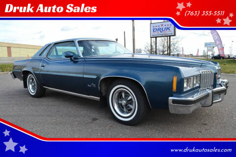 1977 Pontiac Grand Prix for sale at Druk Auto Sales in Ramsey MN