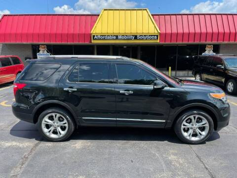 2015 Ford Explorer for sale at Affordable Mobility Solutions, LLC - Standard Vehicles in Wichita KS