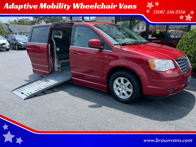 2008 Chrysler Town and Country for sale at Adaptive Mobility Wheelchair Vans in Seekonk MA