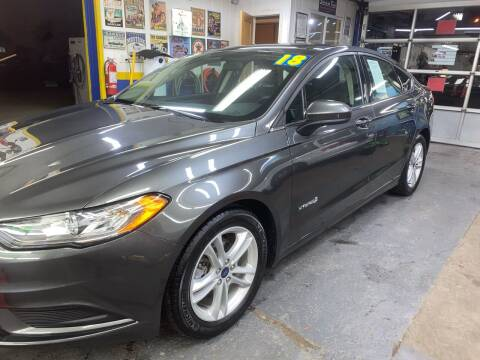 2018 Ford Fusion Hybrid for sale at PELHAM USED CARS & AUTOMOTIVE CENTER in Bronx NY