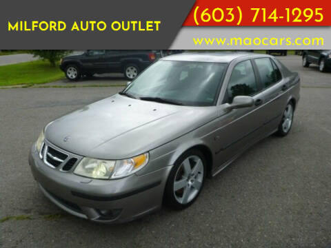 2005 Saab 9-5 for sale at Milford Auto Outlet in Milford NH