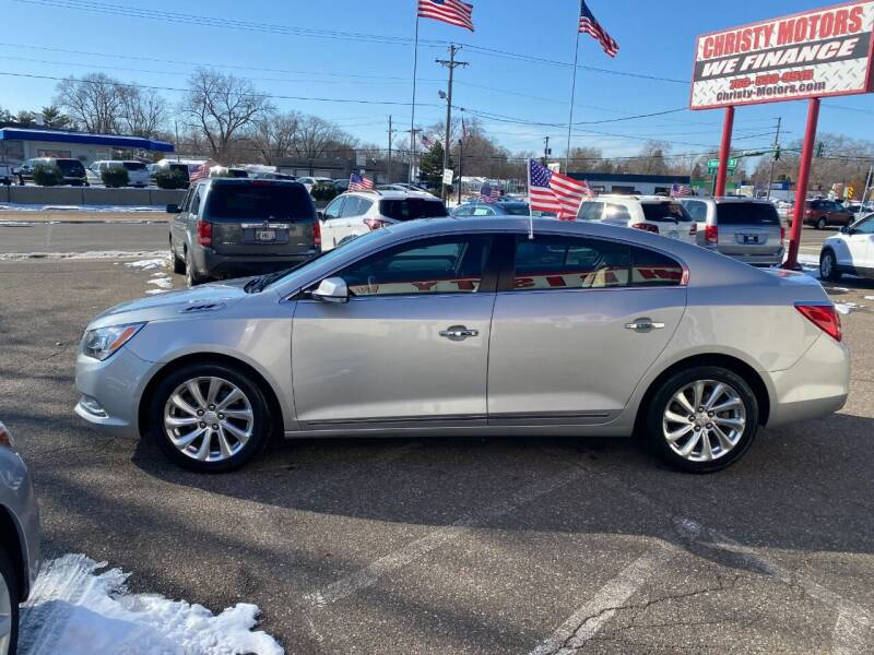 2015 Buick LaCrosse for sale at Christy Motors in Crystal MN