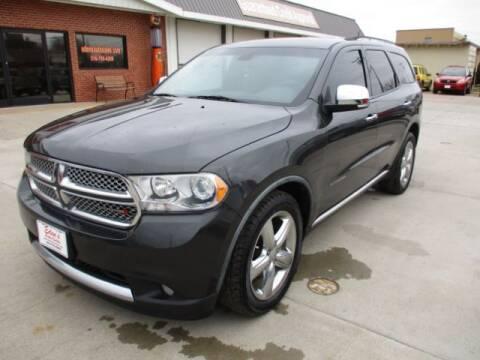 2011 Dodge Durango for sale at Eden's Auto Sales in Valley Center KS