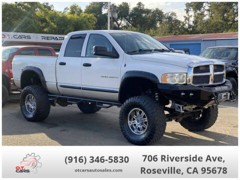 2003 Dodge Ram Pickup 2500 for sale at OT CARS AUTO SALES in Roseville CA