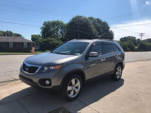 2012 Kia Sorento for sale at E Motors LLC in Anderson SC