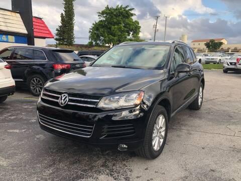 2014 Volkswagen Touareg for sale at Gtr Motors in Fort Lauderdale FL