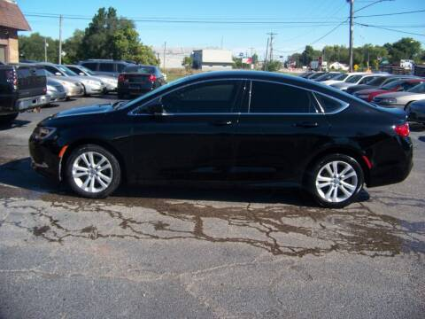 2015 Chrysler 200 for sale at C and L Auto Sales Inc. in Decatur IL