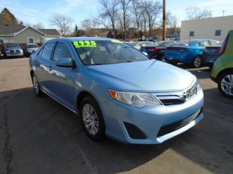 2012 Toyota Camry for sale at DISCOVER AUTO SALES in Racine WI