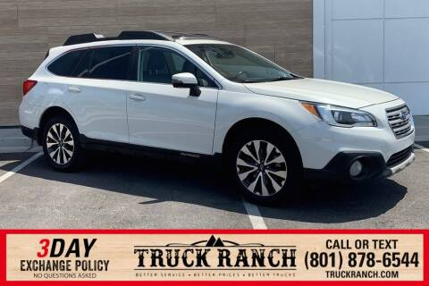 2015 Subaru Outback for sale at Truck Ranch in American Fork UT
