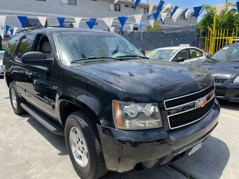 2007 Chevrolet Tahoe for sale at FJ Auto Sales North Hollywood in North Hollywood CA