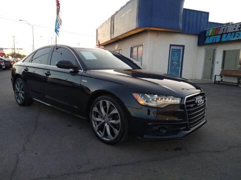 2013 Audi A6 for sale at VIVASTREET AUTO SALES LLC - VivaStreet Auto Sales in Socorro TX