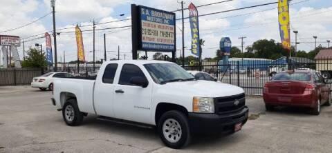 2009 Chevrolet Silverado 1500 for sale at S.A. BROADWAY MOTORS INC in San Antonio TX