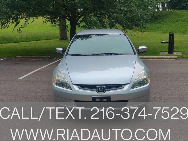 2003 Honda Accord for sale at Riad Auto Sales in Cleveland OH