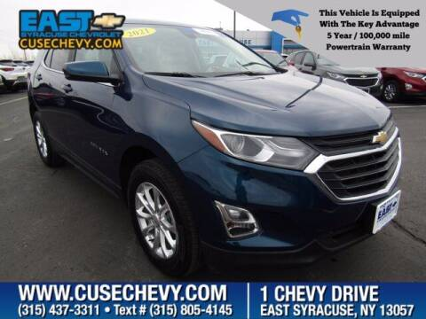2021 Chevrolet Equinox for sale at East Syracuse Performance Sales & Service in Syracuse NY