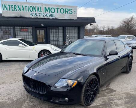 2011 Maserati Quattroporte for sale at International Motors Inc. in Nashville TN
