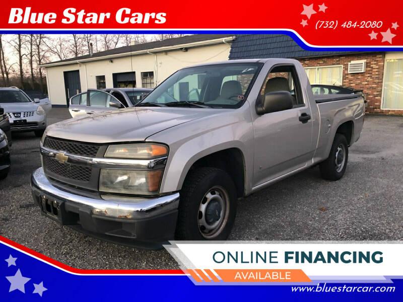 2006 Chevrolet Colorado for sale at Blue Star Cars in Jamesburg NJ