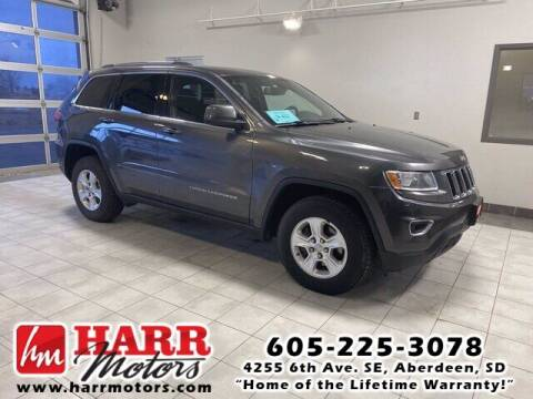 2014 Jeep Grand Cherokee for sale at Harr's Redfield Ford in Redfield SD
