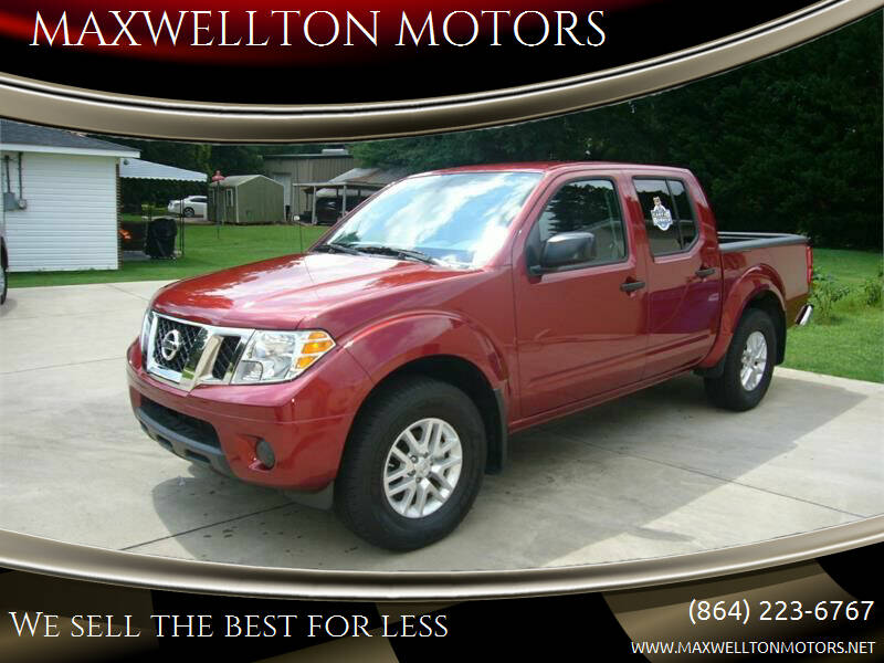 2019 Nissan Frontier for sale at MAXWELLTON MOTORS in Greenwood SC