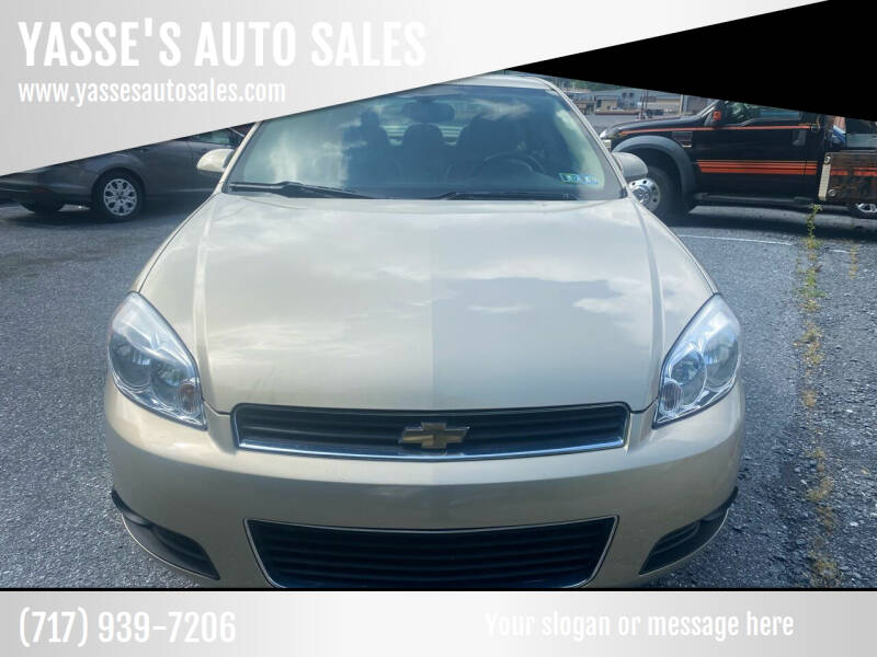 2009 Chevrolet Impala for sale at YASSE'S AUTO SALES in Steelton PA