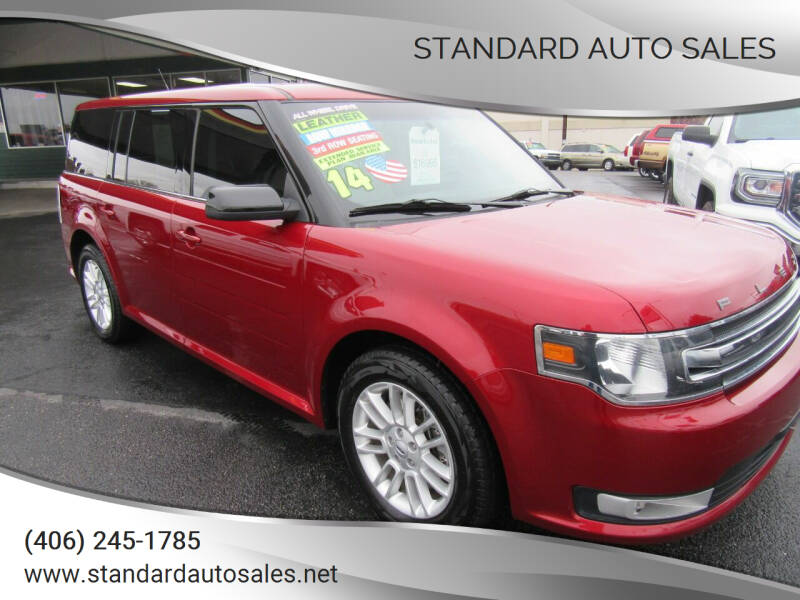 2014 Ford Flex for sale at Standard Auto Sales in Billings MT