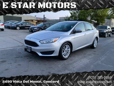 2016 Ford Focus for sale at E STAR MOTORS in Concord CA