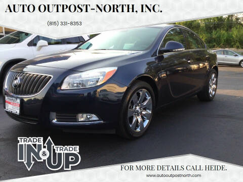 2013 Buick Regal for sale at Auto Outpost-North, Inc. in McHenry IL