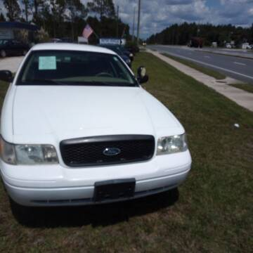 2010 Ford Crown Victoria for sale at MOTOR VEHICLE MARKETING INC in Hollister FL