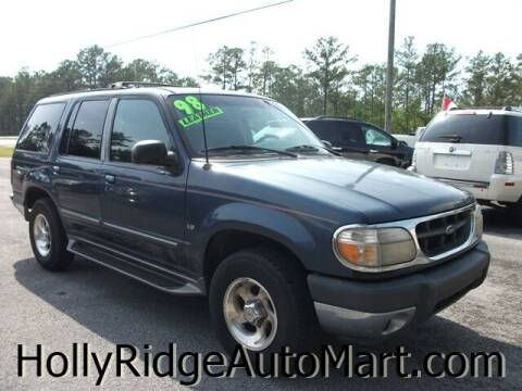 1998 Ford Explorer for sale at Holly Ridge Auto Mart in Holly Ridge NC