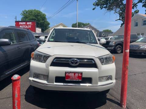 2011 Toyota 4Runner for sale at Park Avenue Auto Lot Inc in Linden NJ