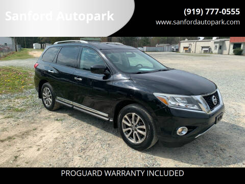 2013 Nissan Pathfinder for sale at Sanford Autopark in Sanford NC
