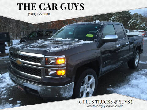 2015 Chevrolet Silverado 1500 for sale at The Car Guys in Hyannis MA