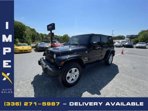 2007 Jeep Wrangler Unlimited for sale at Impex Auto Sales in Greensboro NC