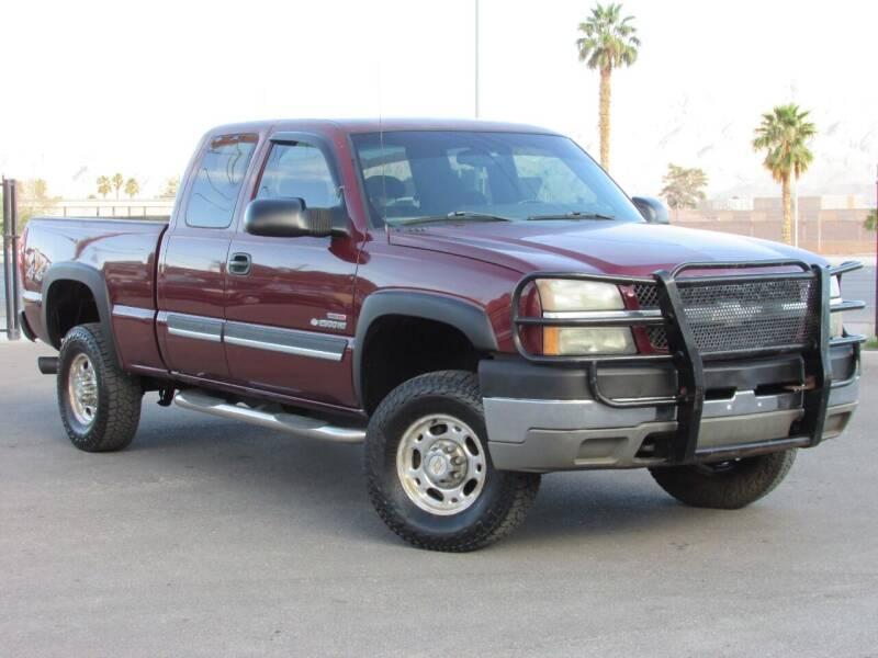 2003 Chevrolet Silverado 2500HD for sale at Best Auto Buy in Las Vegas NV