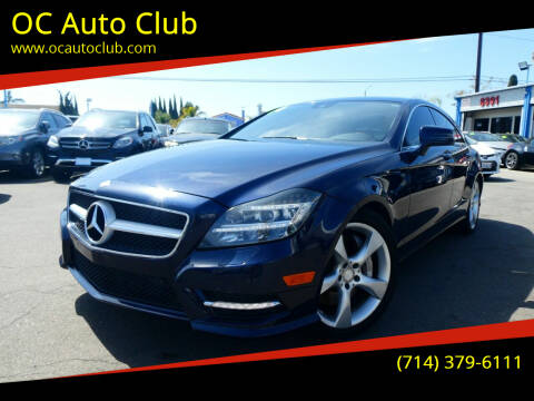 2014 Mercedes-Benz CLS for sale at OC Auto Club in Midway City CA